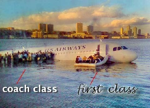 Benefits of first class flying