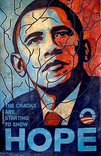 Obama starting to show cracks