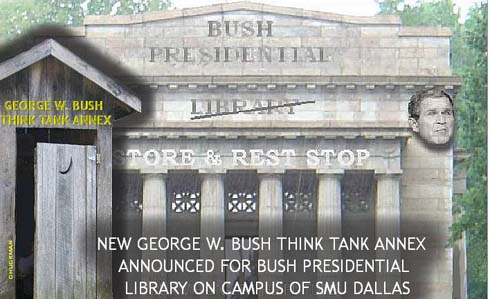 Bush think tank annex to his presidential library
