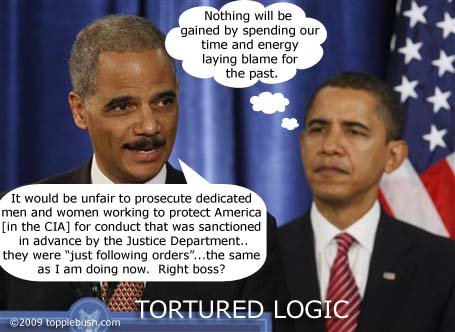 Eric Holder immunizing war criminals