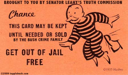Sen. Leahy's out of jail free card