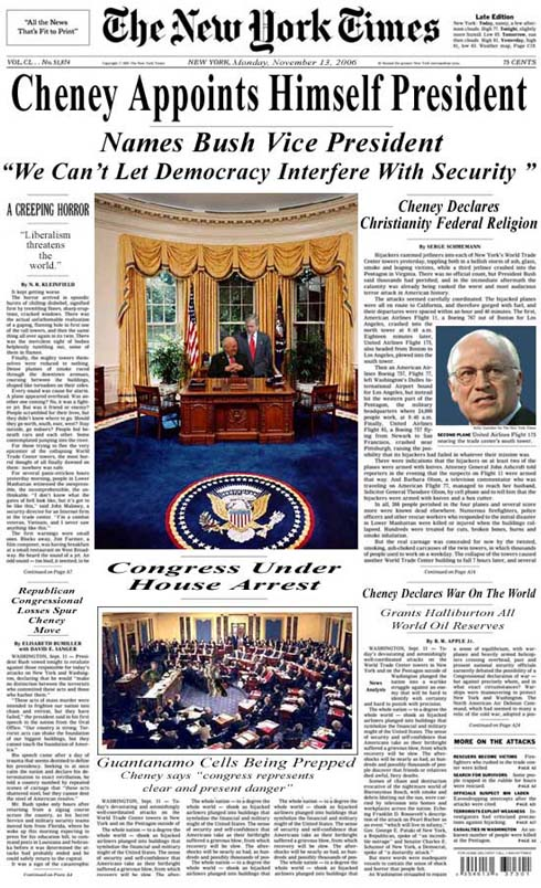 Cheney Headline