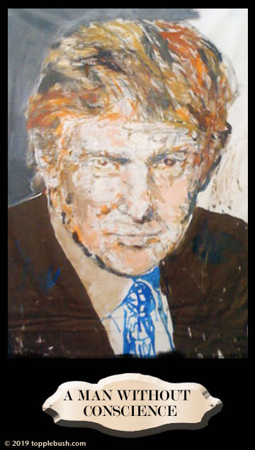 Trump Painting bought at auction