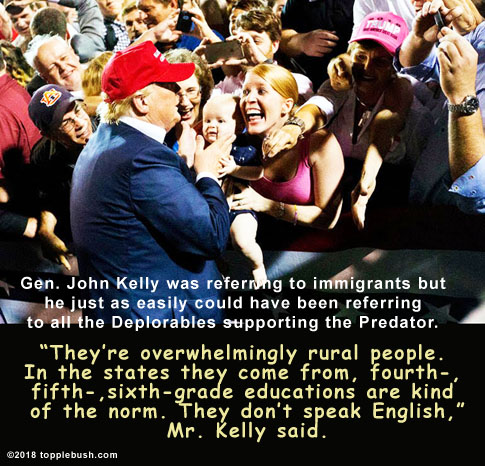 Trump's MAGA crowd described by Gen.Kelly