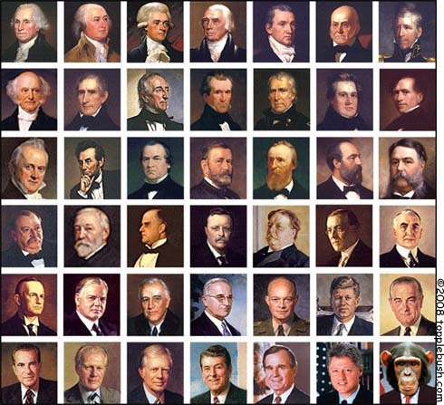 Presidential US stamp collection