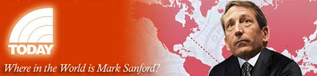 Where in the world is Mark Sanford
