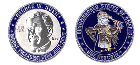 Worst President Ever Coin