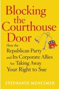 Blocking Courthouse Door  book