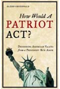 How would a patriot act book